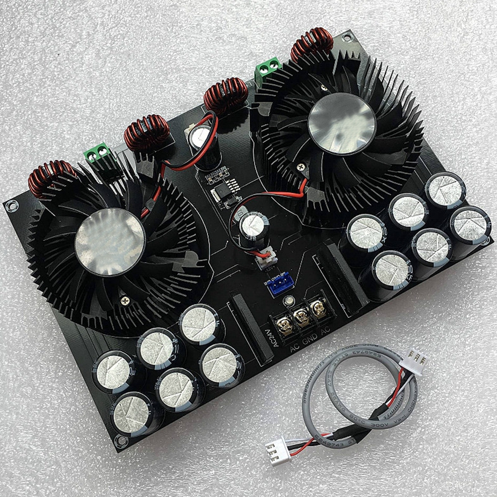 High Power For Speaker TDA8954TH Two Channel Digital XHM258 Dual Chip Audio Double 450W Amplifier Board