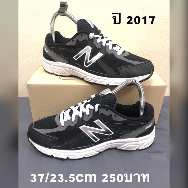 NB แท้ ปี2017 รองเท้ามือ2 37 ยาว23.5 cm