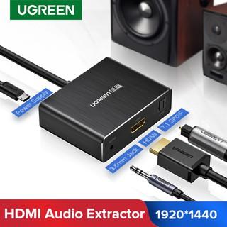 Cáp chuyển HDMI to HDMI + Audio và 1 cổng quang SPDIF 7.1 Ugreen 40281