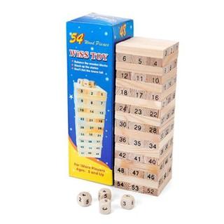 [FOLLOW SHOP 9K- 10h, 15/7] Bộ rút gỗ số nhỏ 54 chi tiết Vsoc