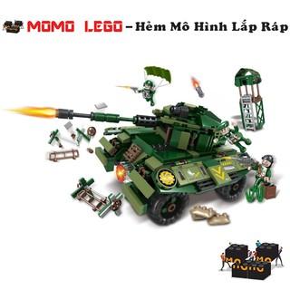 Đồ chơi mô hình lắp ráp lego – Xe Tăng 1 Nòng Súng