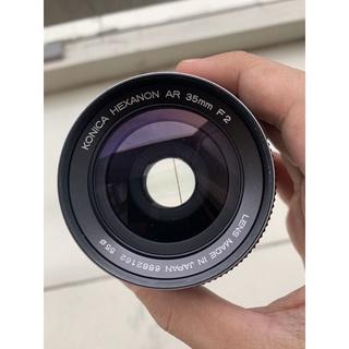 Ống kính máy ảnh phim konica ar 35 f2 thumbnail