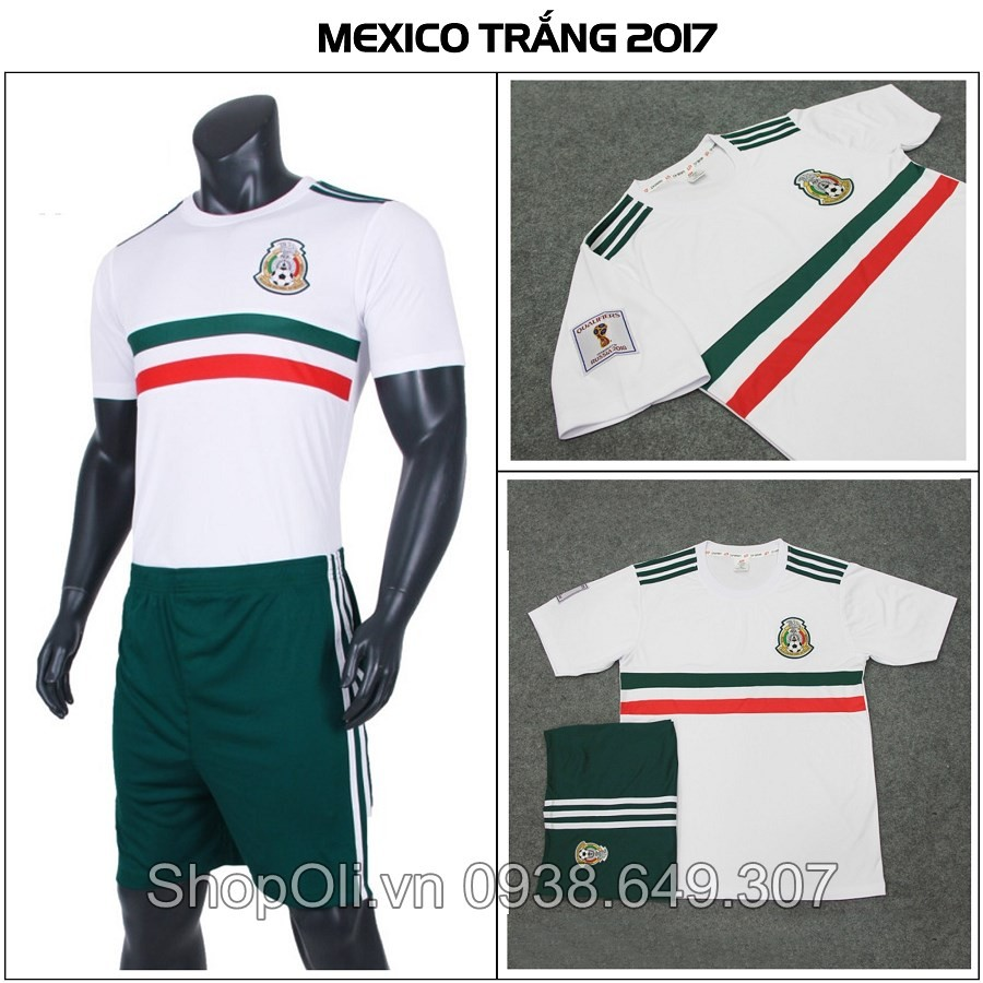Quần áo bóng đá Mexico 2017-2018