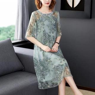 Váy đầm trung niên nữ
