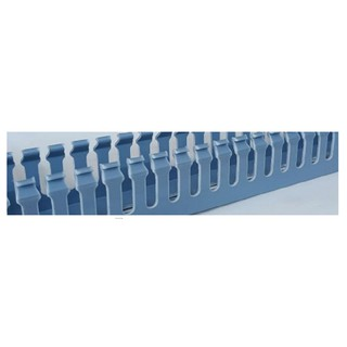 Máng nhựa luồn cáp 35×35 mm (2m/1Thanh)- màu xanh
