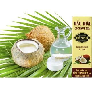 Dầu dừa Bé Thơ 10ml làm mềm môi, mi dài,.. thumbnail