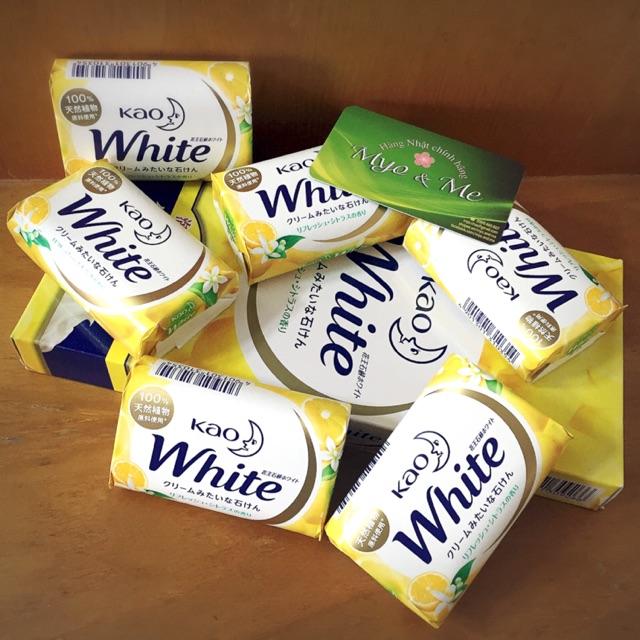 Xà phòng tắm Kao White hương chanh 85g