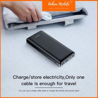 Pin Dự Phòng Sạc Nhanh Baseus Mini JA 3A Fast Charge Power Bank 20,000mAh Cho Smartphone/ Tablet/Laptop/Macbook