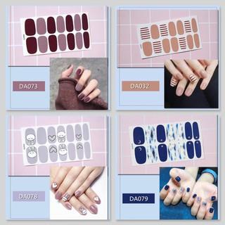 Bộ sticker dán móng tay trang trí 3D DA061-DA080 thumbnail