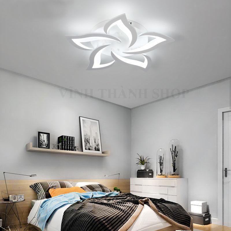 [ Chọn Mã ] Đèn Led Ốp Trần Trang Trí Phòng Khách Và Phòng Ngủ Hiện Đại