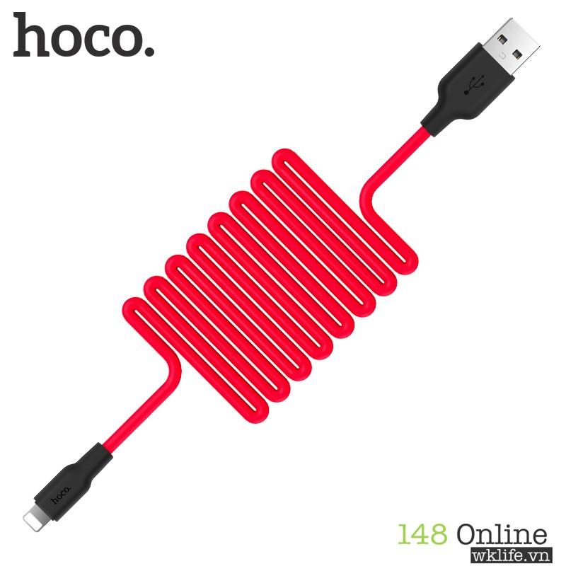 Cáp Hoco X21 | Sạc iPhone iPad Chính Hãng | Chống Cháy