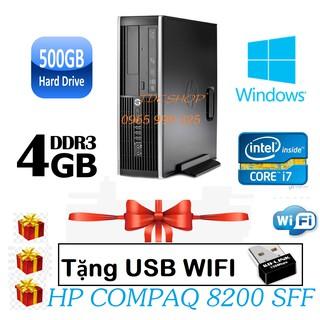 Case máy tính để bàn HP compaq 8200 Intel core i7 2600, ram 4gb, ổ cứng 500gb. Bảo hành 2 năm thumbnail