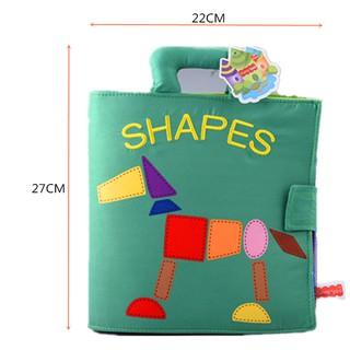 Sách Vải Shapes – Luyện Kỹ Năng Cho Bé