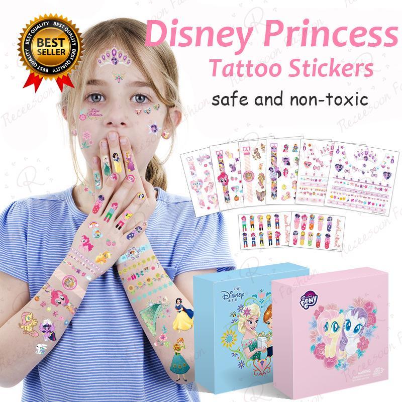 Sticker dán móng Sticker tattoo họa tiết hoạt hình dễ thương cho bé thumbnail