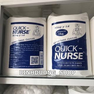 Bông gòn y tế Quick-Nurse 1kg thumbnail