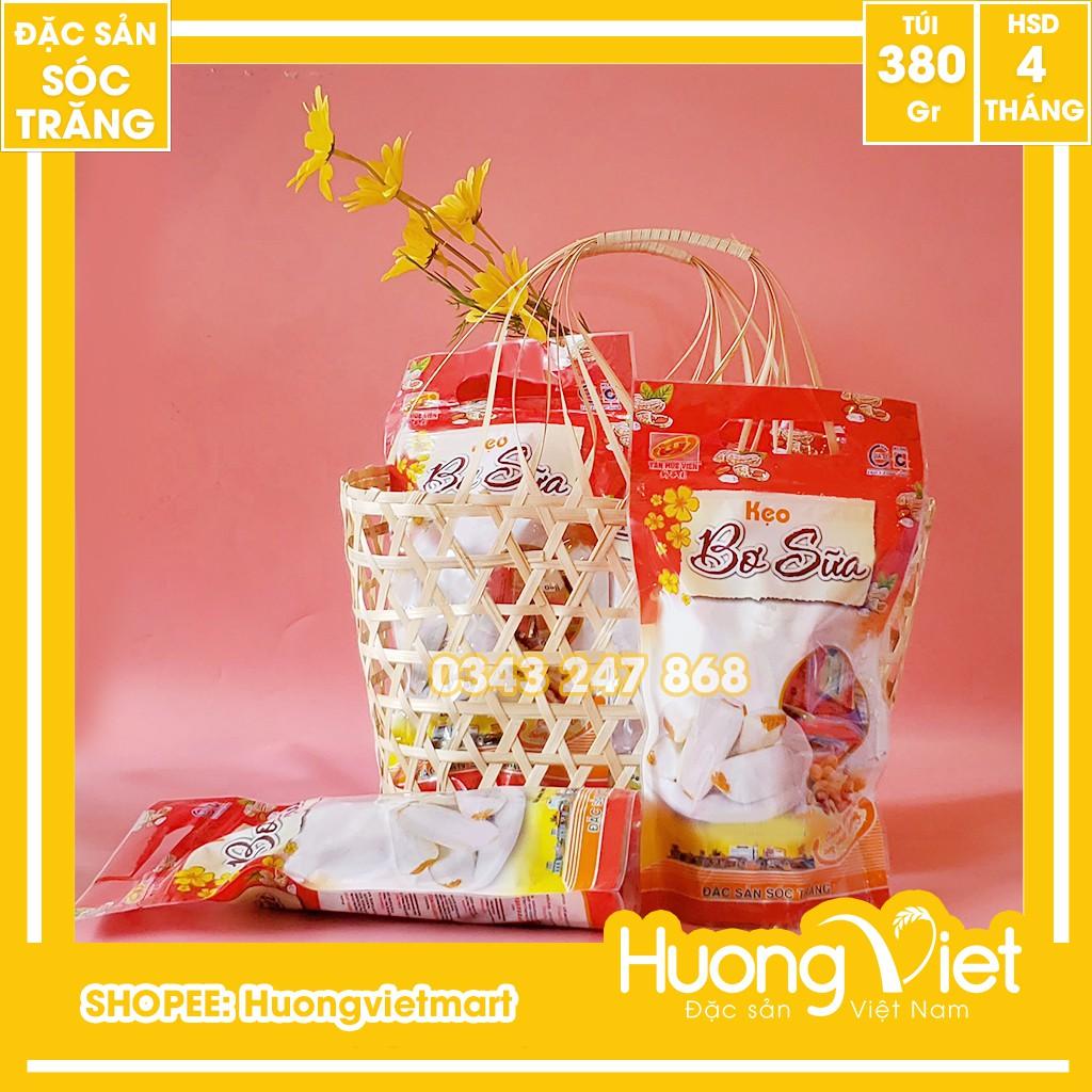 Kẹo bơ sữa đậu phộng cao cấp Tân Huê Viên 380g