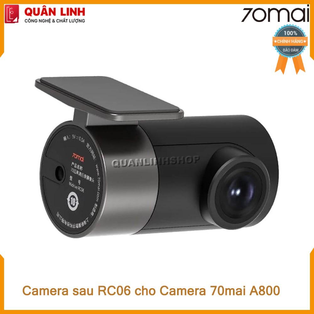[Mã ELMS03 giảm 7% đơn 500K] Cam sau RC06 Rear Camera dùng cho 70mai Dash Cam A800