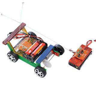 🔥Big-Sale🔥 Kids Creative DIY Remote Control Vehicle Car Model Science Experiment Toys