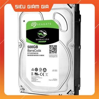 . Ổ cứng HDD Seagate Barracuda 500GB . .