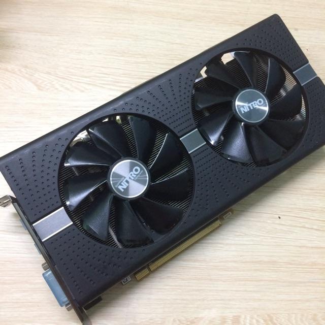Card Màn Hình Sapphire Nitro + Radeon Rx570 8gb Giá chỉ 2.300.000₫