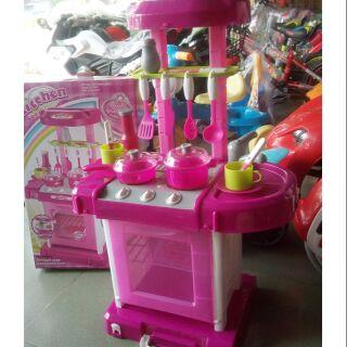 Hộp đồ chơi nhà bếp cao cấp MS008-58