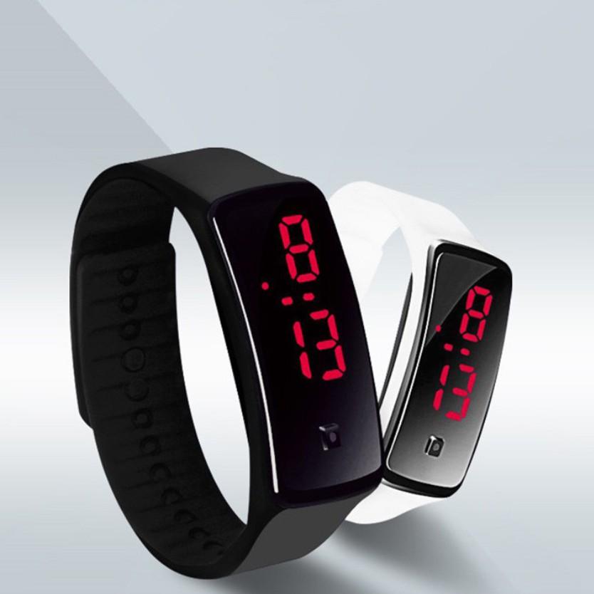 Đồng hồ thời trang nam nữ LED ADT04 thể thao cá tính