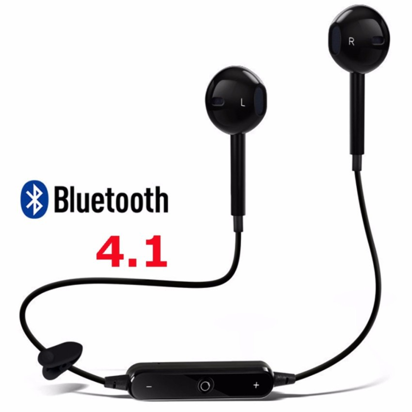 Tai nghe bluetooth thể thao không dây S6 ( đen )