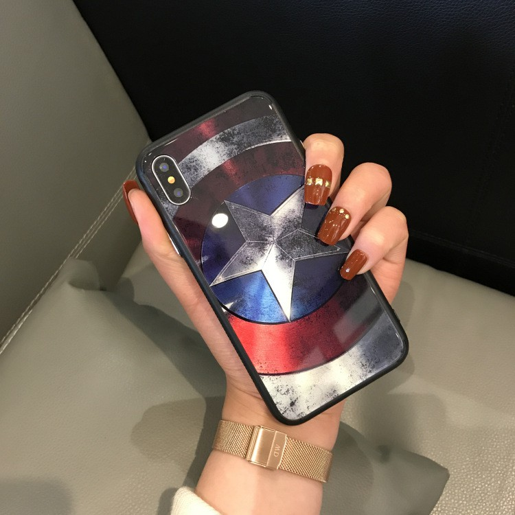 Ốp Kính Captian cho iPhone