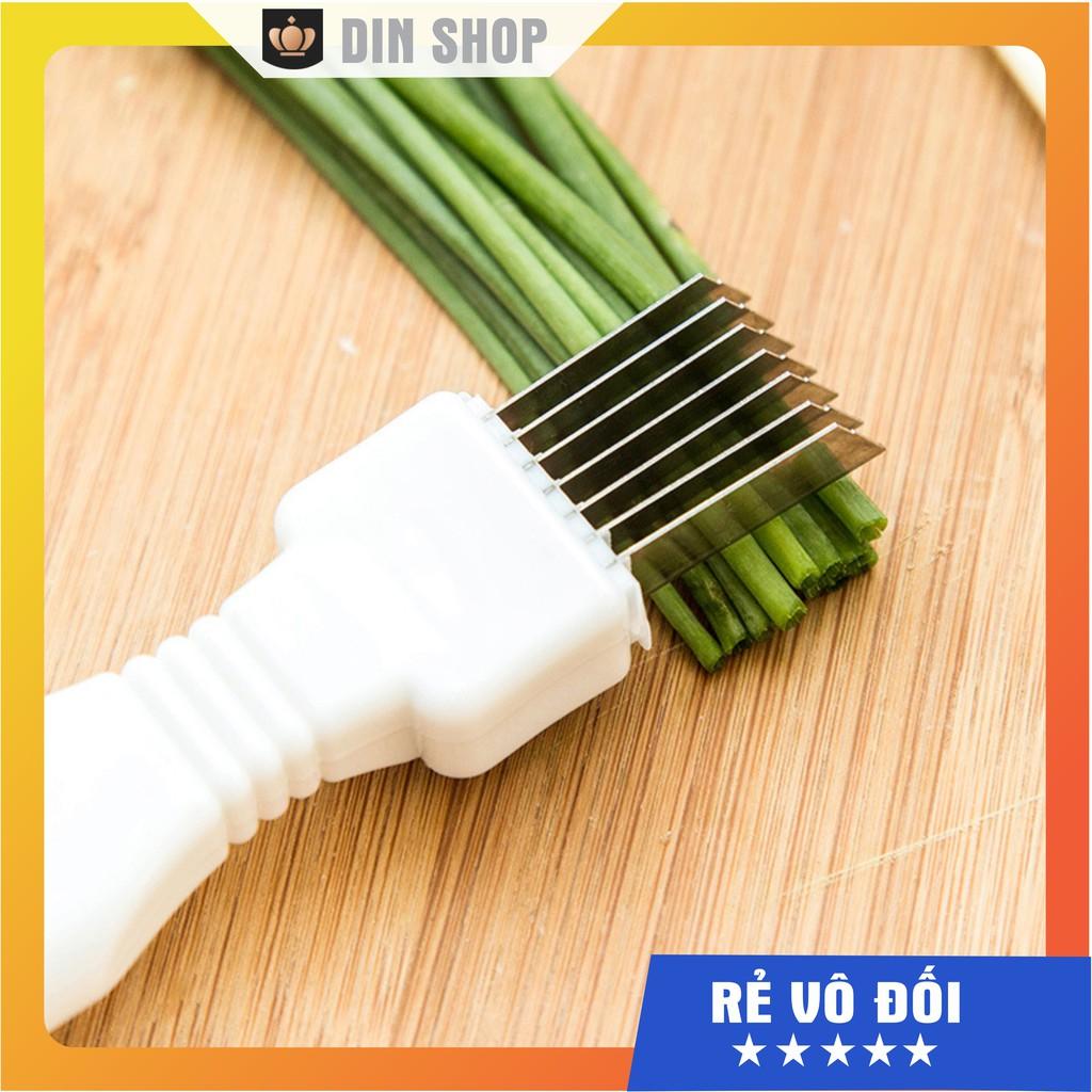 Dao cắt tỉa sợi hành ĐA NĂNG Dao chẻ tiện dụng 7 lưỡi cắt chẻ hành hoa, măng, rau muống, dụng cụ thông minh