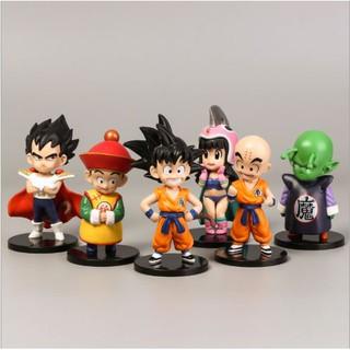 Mô hình 6 nhân vật 7 viên ngọc rồng_Dragon Ball