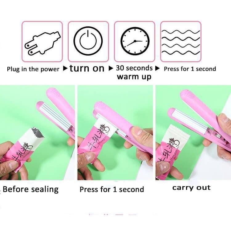 Máy hàn miệng túi cầm tay mini