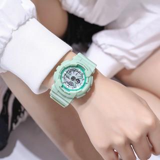 Đồng hồ thể thao nữ Sport watch SW050 chính hãng, điện tử, xem thứ, ngày, tháng, bấm giờ, báo thức, đèn led
