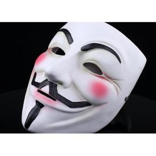Mặt nạ nhựa hóa trang hacker Anonymous Pcho nam và nữ Pmã NL