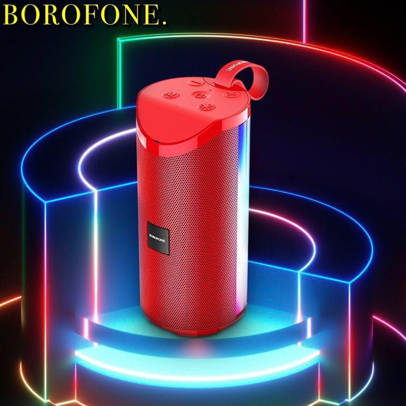 Loa Bluetooth Borofone BR5 Đèn Led Sống Động, Âm Thanh Lớn âm bass siêu chất - BH 1 Năm hàng chính hãng