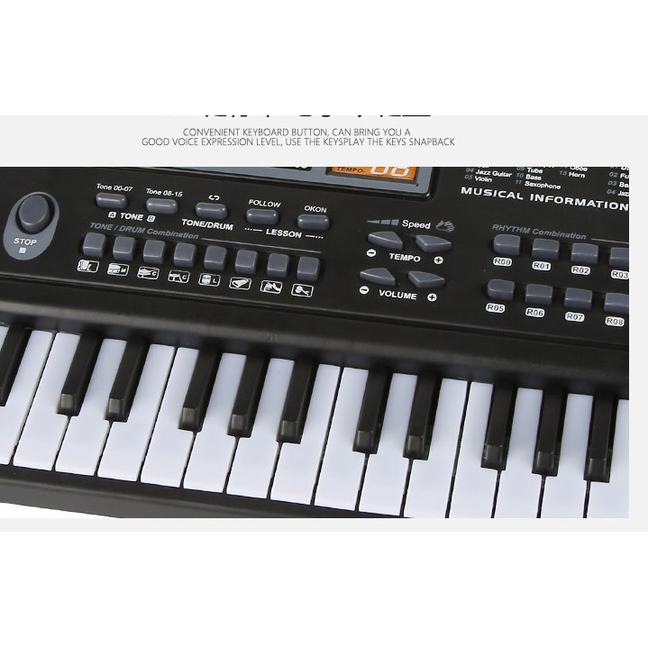 ĐÀN PIANO 61 PHÍM ĐIỆN TỬ
