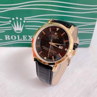 Đồng hồ Nam Rolex dây da mềm, thẻ bảo hành 12 tháng - Dong.ho.rolex thumbnail