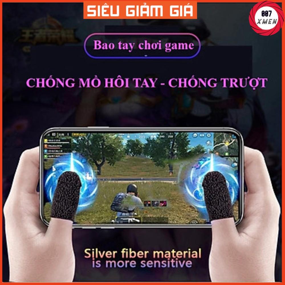 [ Loại 1 Siêu Nhạy ] Bộ bao 2 ngón tay chuyên dụng chơi game mobile chống ra mồ hôi tay