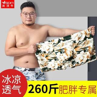 Bộ 1 / 4 Quần Lót Lụa Thoáng Mát Cho Nam 200-320kg
