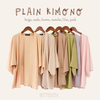 [Mã SKAMCLU7 giảm 10% tối đa 50K đơn 0Đ] Plain Kimono outerwear thumbnail