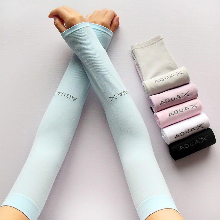 Sun Protection Gloves Cuffs Ladies Anti-UV Ice Silk Sleeves Summer Thin Suit