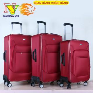 Vali vải dù cao cấp Hùng Phát VLX-022 Vali kéo du lịch chống thấm nước, Size 20,24,28, hàng Việt Nam chất lượng cao thumbnail