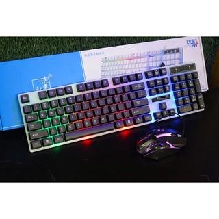 [flash sale] Combo phím chuột giả cơ chuyên game led G21 [giá gốc]