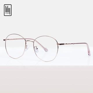 Hình ảnh Gọng kính cận nữ Lilyeyewear kim loại, mắt tròn, nhiều màu - Y2984-0