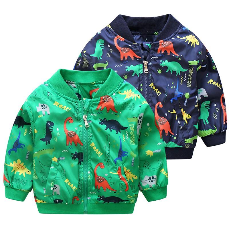 Baby Cartoon Baseball Coat New Boys'and Children's Jacket wt