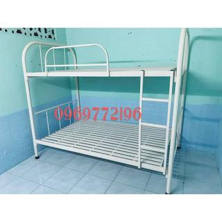 giường tầng tròn bo góc ngang 1m x 2m ( hình thật)