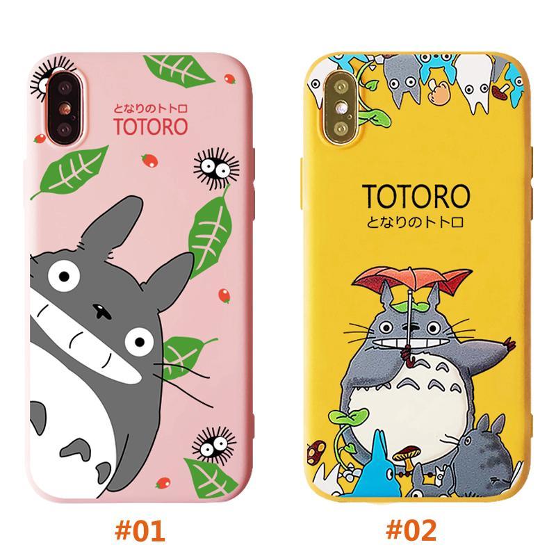 [FREESHIP 99K] Ốp lưng dẻo silicon hình mèo TOTORO cho iPhone 6 6s 7 8 Plus X XS XR XSMax