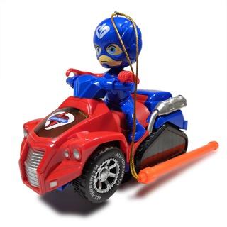 Lồng đèn siêu anh hùng lái xe kèm nhạc đèn và có thể di chuyển (giao mẫu ngẫu nhiên) thumbnail