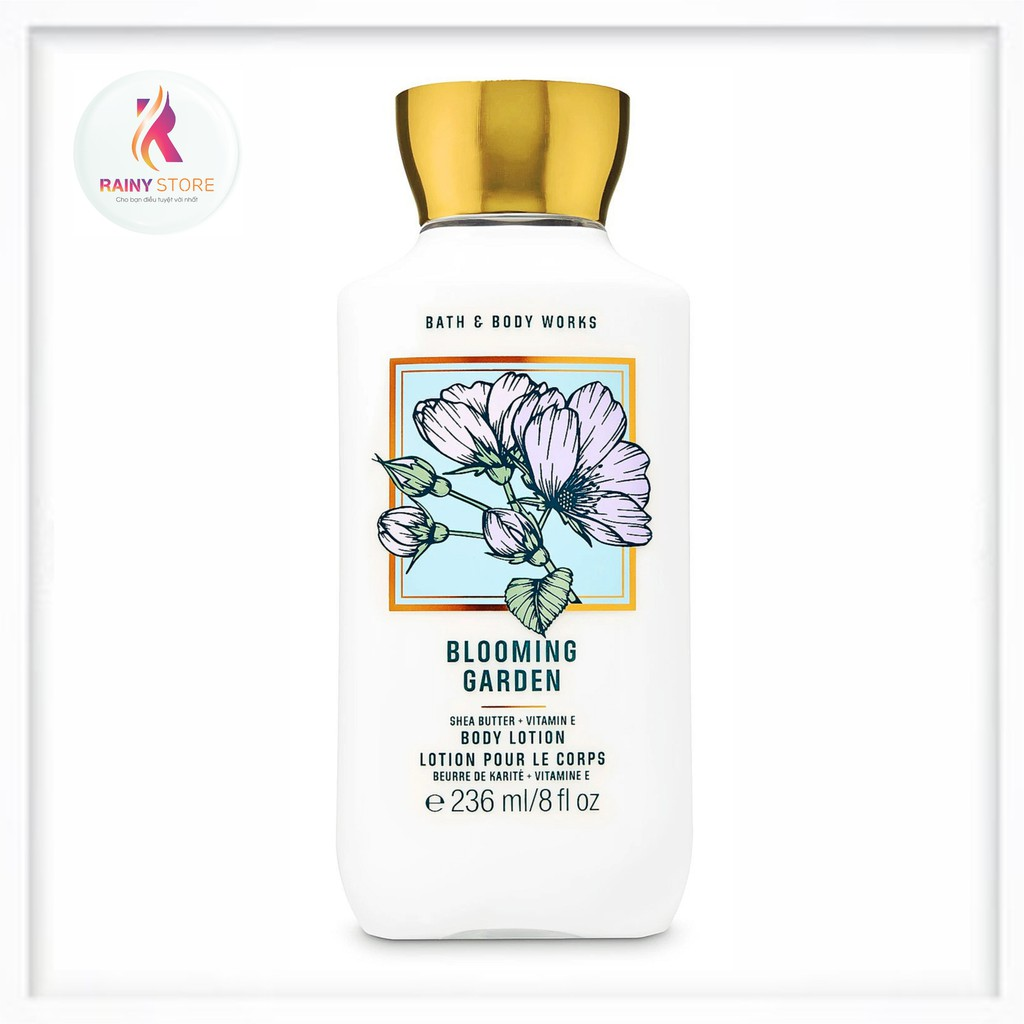 Sữa Dưỡng Thể Bath & Body Works Blooming Garden 236Ml