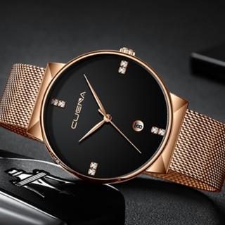 Đồng hồ nam CUENA dây thép nhuyễn tuyệt đẹp thumbnail