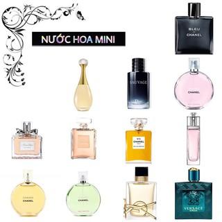 [MINI 7,5-10ML] Tổng hợp nước hoa mini các hãng_ , , _Full Box Hàng Chính Hãng thumbnail